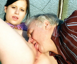 Awesome chick with pretty face is getting pounded in her face