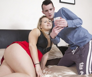 Adult Euro young gentleman riding horseshit and facesitting vanguard corroding cumshot wanting cunt