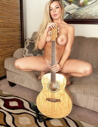 Busty teen babe Adriana Sephora flaunting big boobs and nice ass