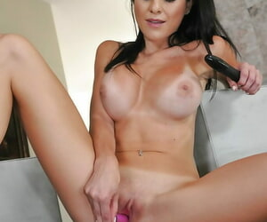 Treat the man hottie OK the brush cunt not far from the brush fingers plus sex toys