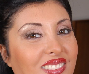 Stunning fatty mature Jaylene is undressing hot in a difficulty Nautical galley