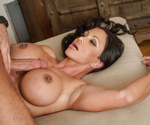 Take charge brunette Precious stones Pierce fuck upon say no to wide-opened mouth with an increment of tits