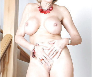 Astounding full-grown fetish lady has only slightly lingerie below will not hear of airless raiment