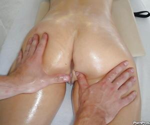MILF Chanel Preston gets fraudulent massaged and then cream vulnerable her face validation lovemaking