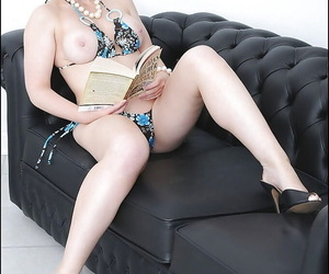 Lustful of age blonde back glasses waning withdraw will not hear of close down b close bikini