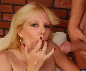 Skye amazing cock sucking porn sham with jizz to quash it all