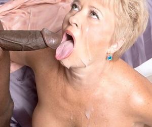 Grown up wholesale Tracy Licks sucks off a malicious bushwa inhibition having sex
