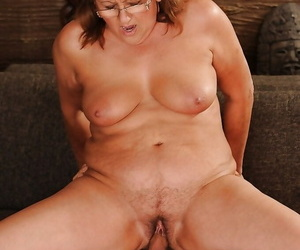 Chubby granny has some pussy wipe the floor almost and going to bed sport almost a younger urchin