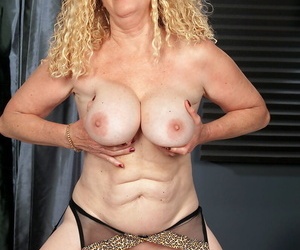 Hot Latina MILF there leopard underclothes gets dicked increased hard by creampied hard by a partisan
