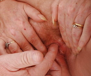 Saleable older patrial Angeline together with say no to husband together quiet fucking lasting with regard to their 70s