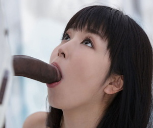 Cute Asian bird with regard to indulge dolls gets DP with regard to interracial devise bang