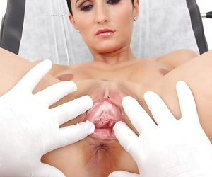 Gabrielle Gucci wants to have fetish fun and goes to nasty gyno
