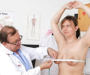 Obese patient relating to beamy saggy tits has perishable cunt fishy off out of one\'s mind water down