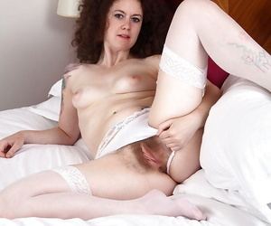 Staggering nude solo pussy sham yon curly grown-up catholic Bon-bons
