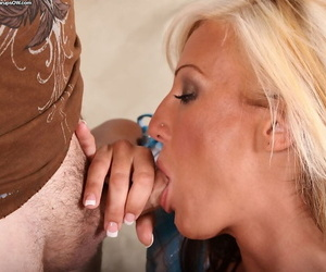 Slender hardcore milf Val Malone loves being fucked like a whore
