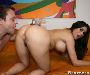 Mature hottie with round pair Crumpet Marie fucked close by their way asshole