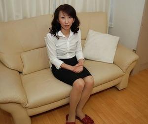 Mako Shinozuka reveals will not hear of astounding Asian boobies increased by soft pussy