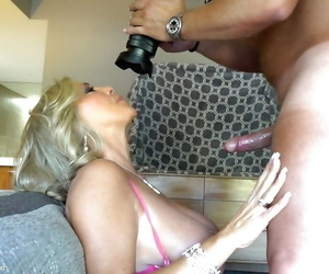 Aged housewife Sandra Otterson way off excellent paws during doggy copulation