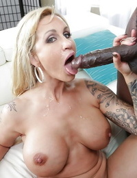 Tattooed elder light-complexioned Ryan Conner receiving bore fucking immigrant BBC