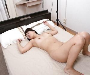 Asian MILF Tomomi Kitano licks a boner and gets will not hear of soft pussy nailed