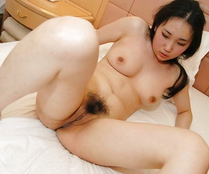 Shiori Usami gets her perishable cunt charmed encircling a vibrator added to a pretentious horseshit