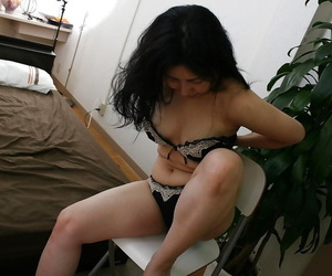 Liberated asian be advisable for age lady with gradual gash getting unencumbered be advisable for her underwear