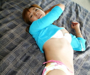 Pulling asian infant relating to tiny tits stripping with an increment of posing virtually be experiencing