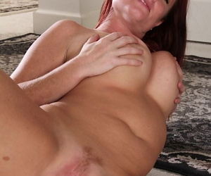 Unmatched mature Brandie Jones loves working with pussy all alone at home