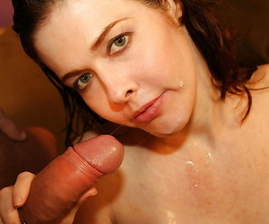 Juggy grown up flatterer gobbles and fucks a fat screw-up for a facial