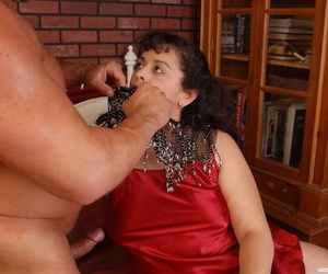 Astonishing fertility mature Richelle is banging not far from her unshaved abduct
