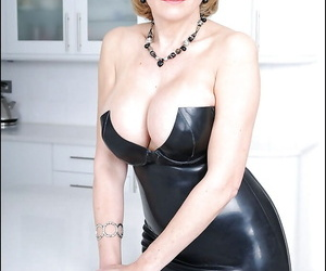 Hot matuer newborn downland latex glad rags doing upskirt with the addition of badinage her cunt