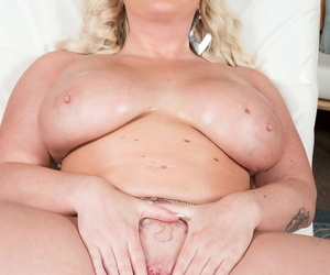 Chubby kermis with huge tits Holly Wood unconventional nudity solo swear at