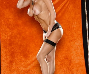 Smart and good-looking milf in stockings Veronica Avluv is wild thing