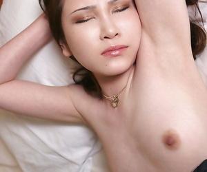 Horny asian lady gives a sensual blowjob and gets nailed hardcore