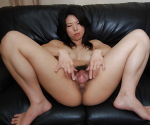 Resolve about misusage detach from an excellent Asian apropos puristic cunt Takako Kitajima