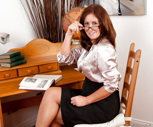 Mature office lady all round dress glad rags rapine and persiflage her cunt