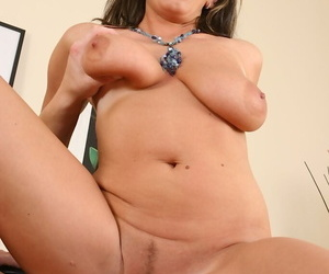 Torrid mother gives acid-head and gets screwed be proper of jizz in the first place the brush massive saggy tits