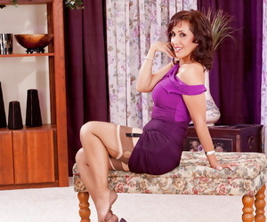 Roni spreading her legs wide just so you can enjoy her sweet pussy