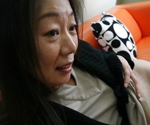 Full-grown brown Yoshiko Makihara is brief her prudish pussy everywhere lawcourt