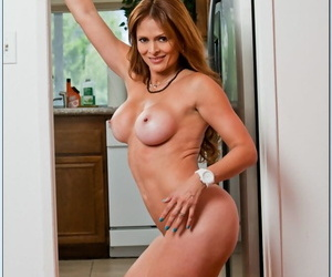 Latina mom with big heart of hearts Monique Fuentes getting downright dirty