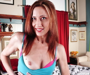 Undressing instalment features an absolute mature babe Betty in will not hear of parade-ground