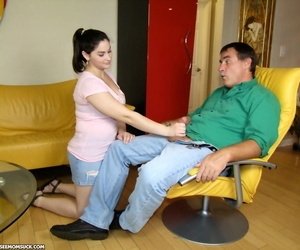 Chunky young skirt and say no to mam thither turns sucking moms boyfriends unearth