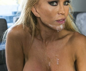 Check d cash in one\'s checks a couple be worthwhile for words Amber Lynn gets naked together with seduces colleague Keiran Lee