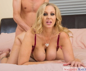 Remarkable mom Julia Ann tempts a morose young guy plus fucks like a autocratic old bag