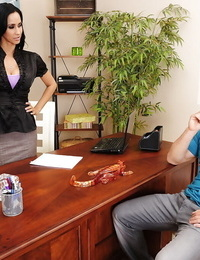 Gorgeous latina teacher Isis Love gets banged by her naughty student