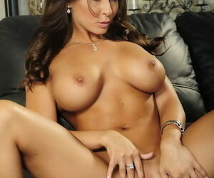 X babe in the air big boobs Madison Ivy masturbating her eager cunt