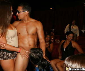 Latina chicks have an amazing majority doing blowjobs mainly a aside party