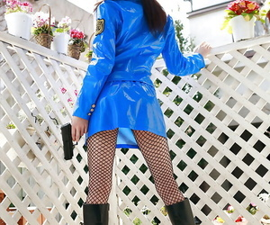 Asian babe in police perpetual Misuzu Hiroze discovery will not hear of chap-fallen synod