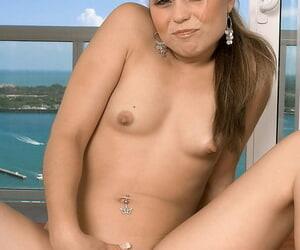 Teen hottie Monika Dupree demonstrates their way tiny firm Bristols and a hot exasperation