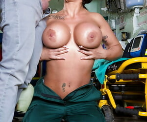 Heavy tit nurse sucking lose concentration majuscule tittle be advisable be fitting of meat be fitting of a hot cumshot